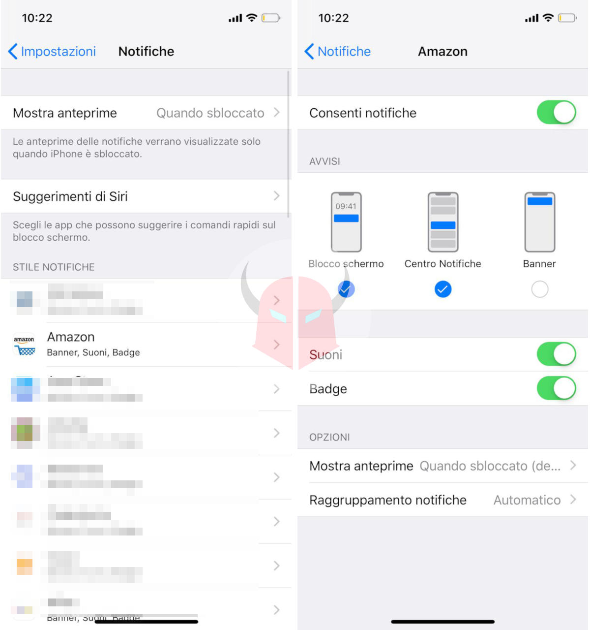 come aumentare durata batteria iPhone notifiche push