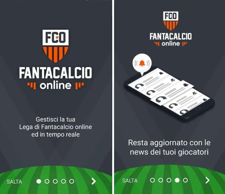 app per il Fantacalcio denominata Fantacalcio Online