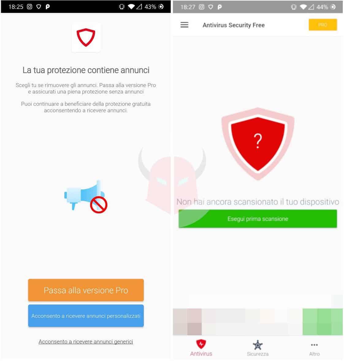 migliori antivirus Android gratis Avira