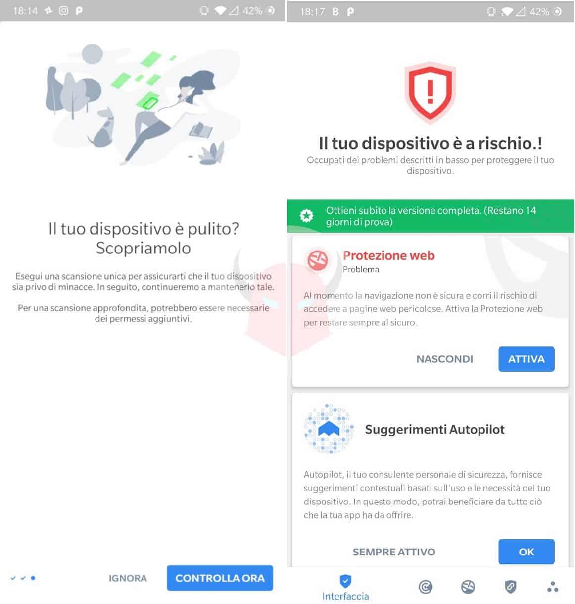 migliori antivirus Android gratis BitDefender