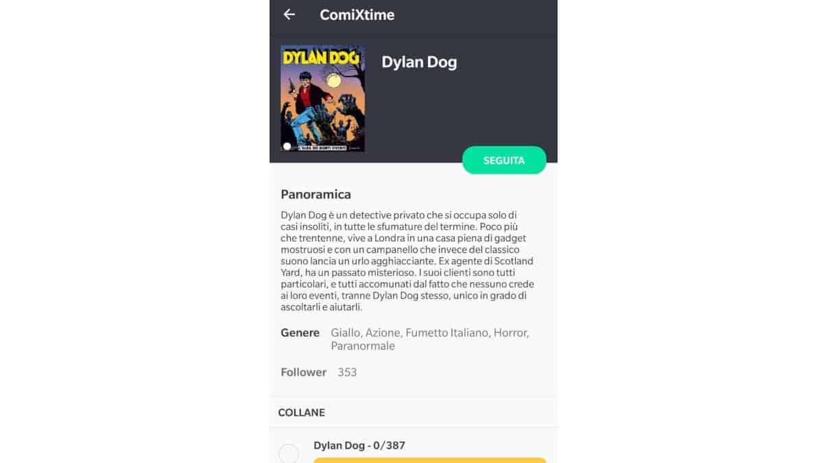 app per manga ComiXtime