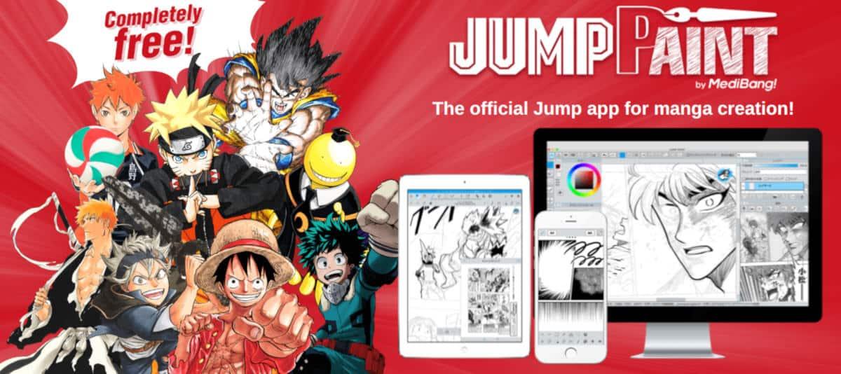 app per manga Jump Paint