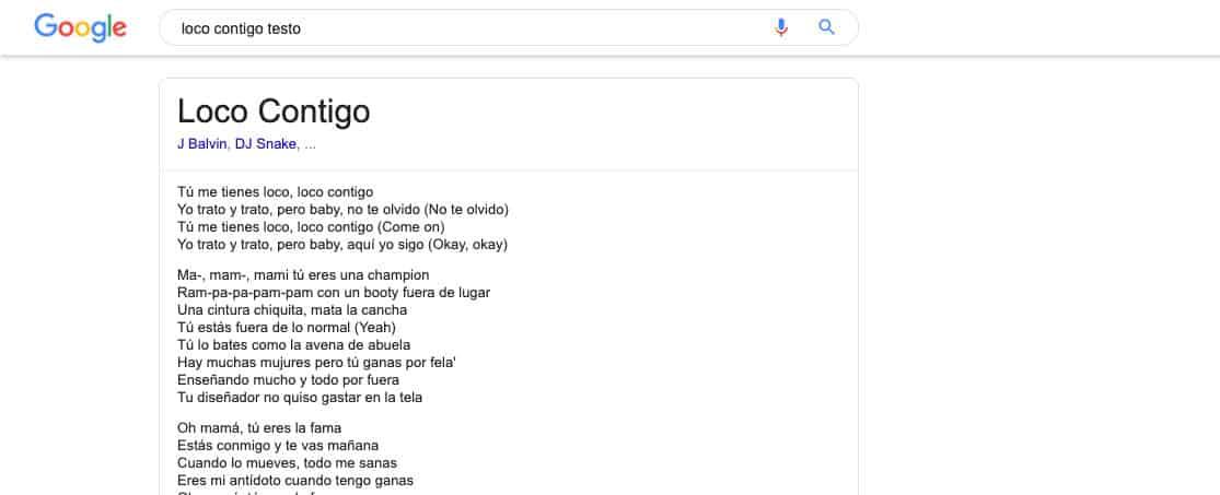 come riconoscere il titolo canzone ricerca Google