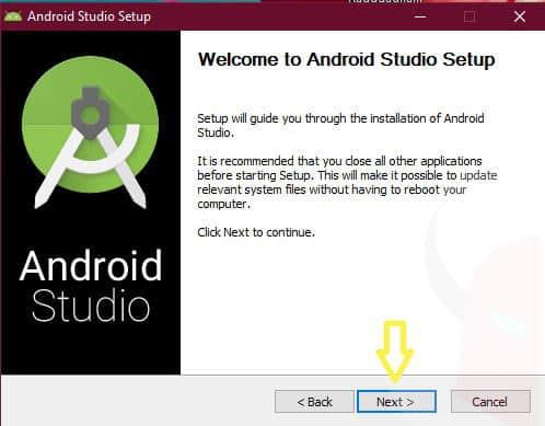 come installare driver USB Android installazione guidata Android Studio