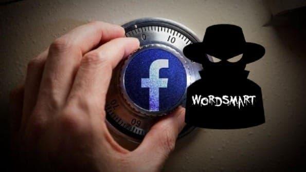nascondere profilo Facebook WordSmart