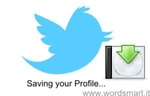 Scaricare Archivio Twitter e Informazioni