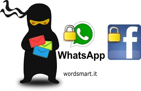 blocco chat whatsapp facebook ninja