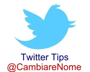 cambiare nome Twitter