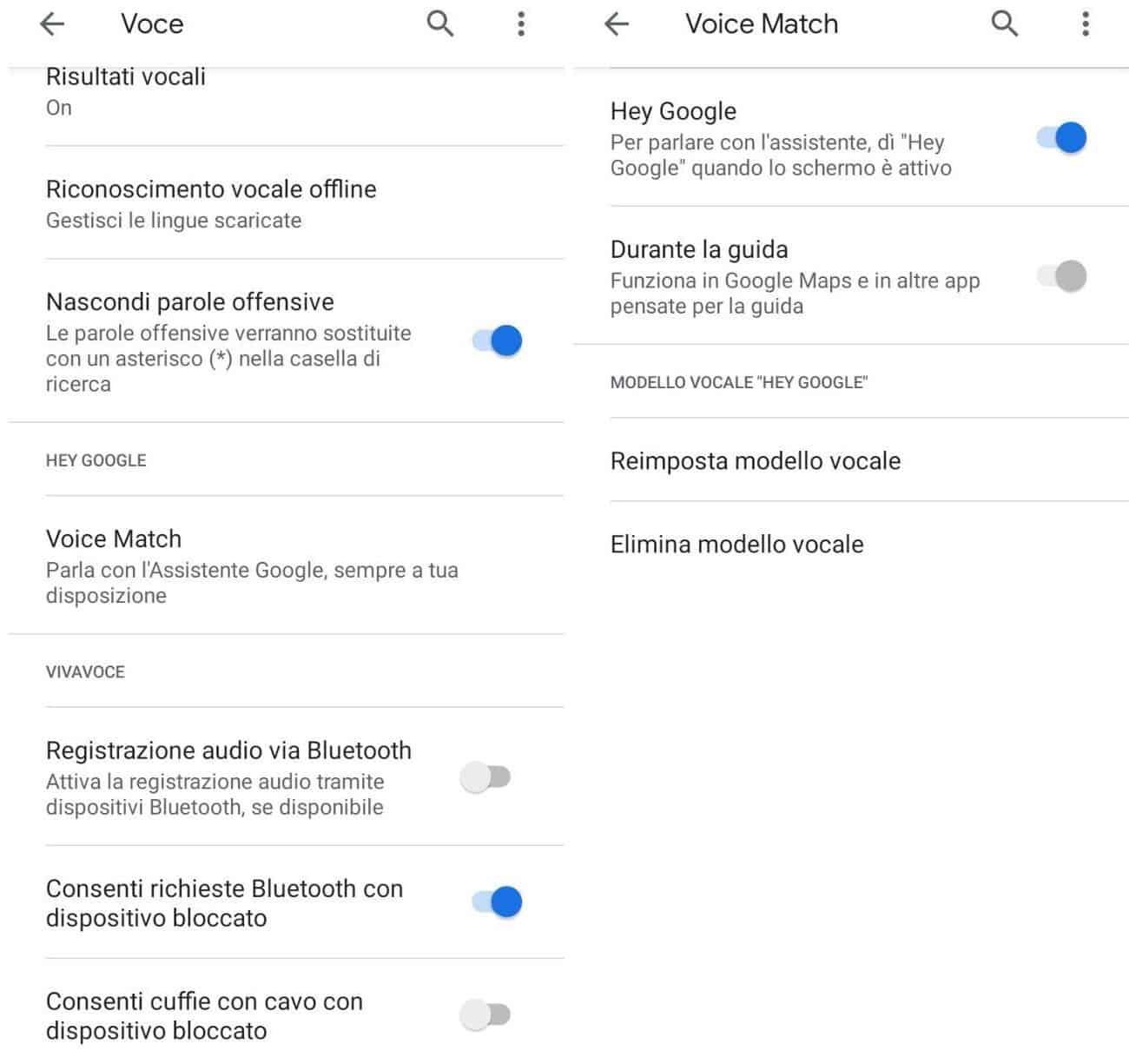 come attivare Ok Google Android
