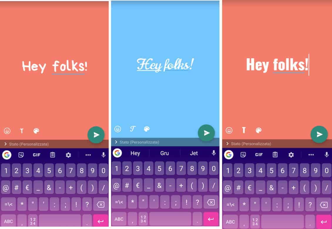 come cambiare font su WhatsApp aggiornamenti allo stato