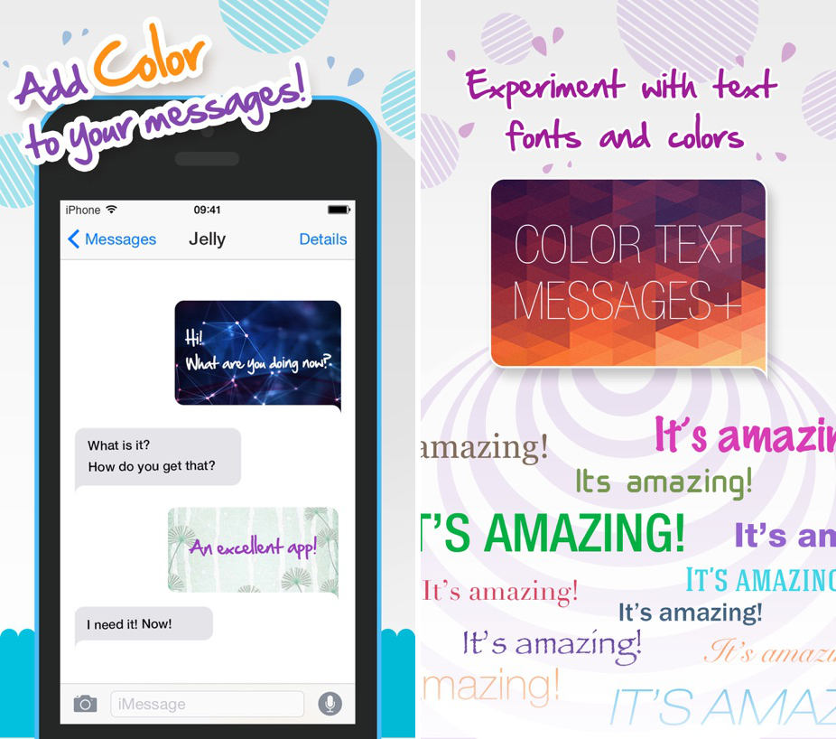 come cambiare font su WhatsApp app Color Text Messages plus