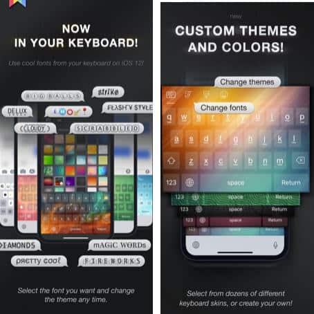 come cambiare font su WhatsApp app Cool Fonts