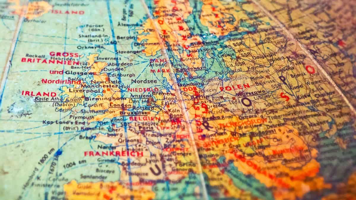 come prenotare un volo online mappa Europa