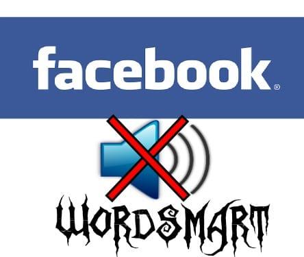 rimuovere suono notifiche facebook wordsmart