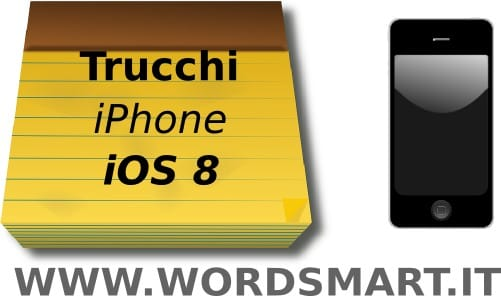 Formattare Testo Note iPhone iOS 8