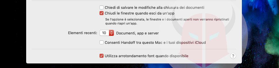 come disattivare le notifiche di iPhone su Mac
