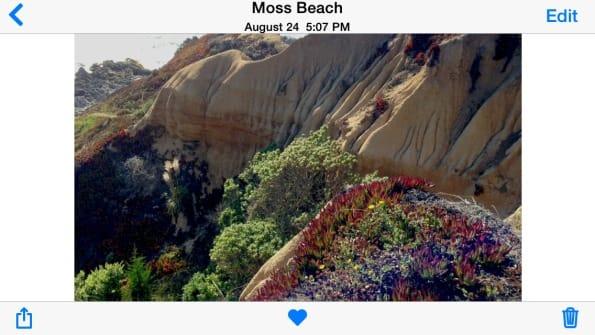 Posizione Foto iPhone iOS 8