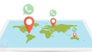 come cambiare posizione su WhatsApp con Android