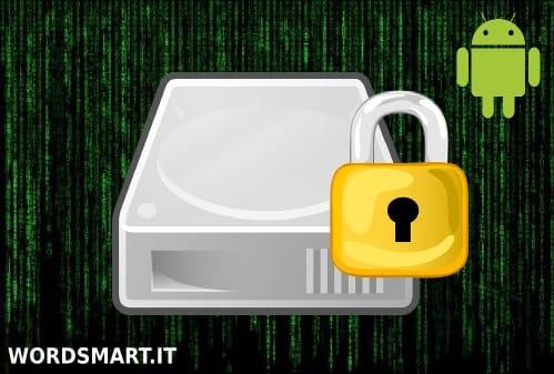 criptare file in una cartella android