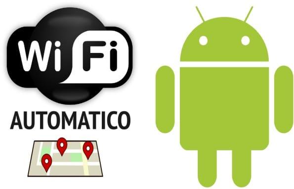 attivare wifi automatico android
