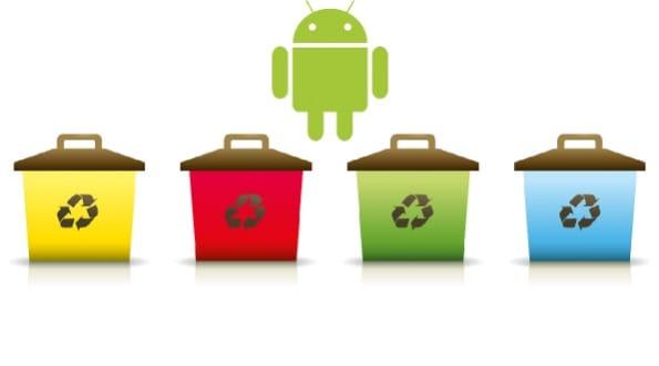 creare cestino android