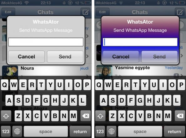 notifiche push whatsapp iphone whatsator