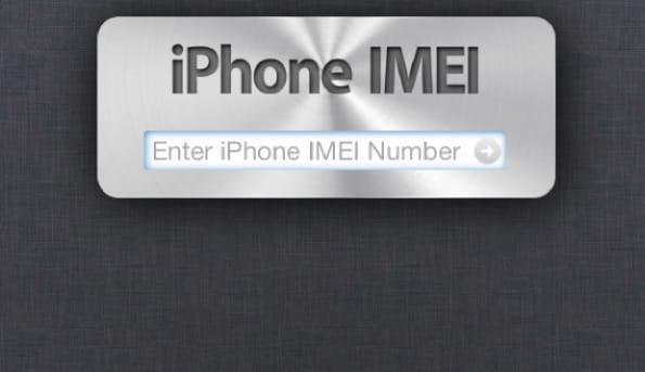 Reperire il codice IMEI