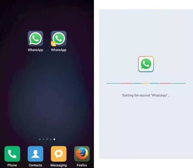 come avere due account WhatsApp esempio WhatsApp++