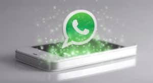 come tornare inizio conversazione WhatsApp