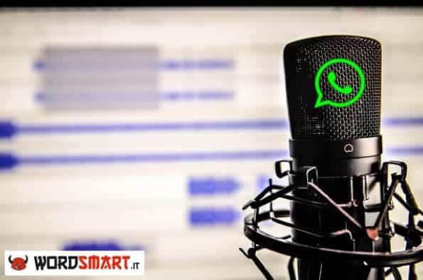 registrare chiamate vocali whatsapp