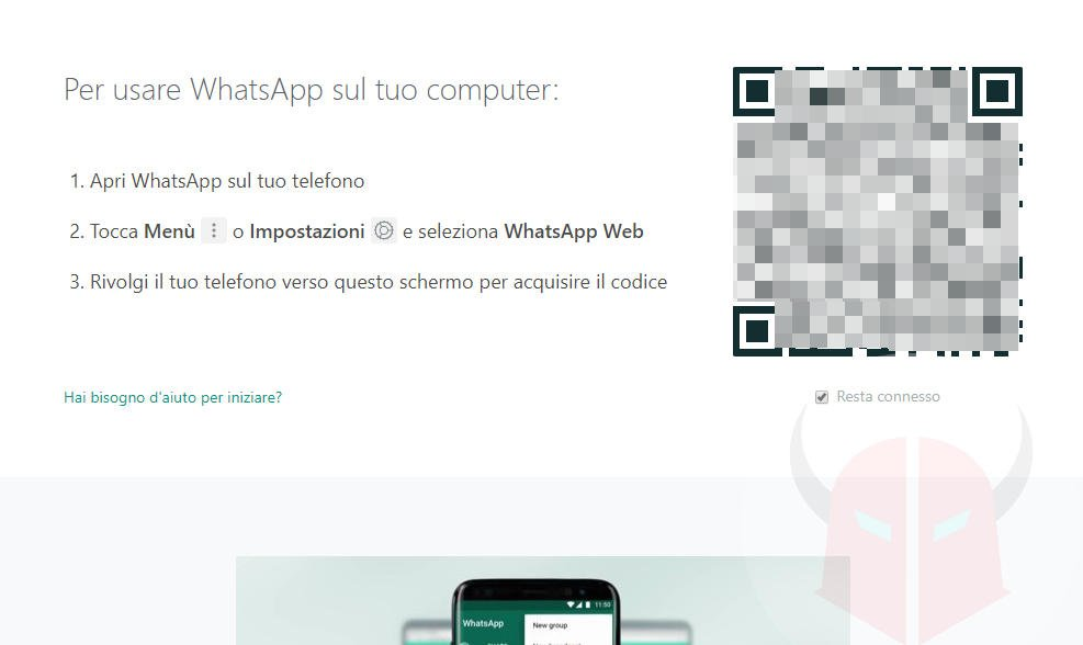come clonare WhatsApp con WhatsApp Web o Desktop
