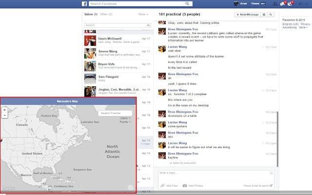 posizione GPS amici Facebook Marauder's Map