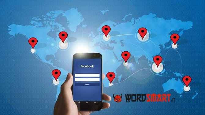 posizione gps amici Facebook