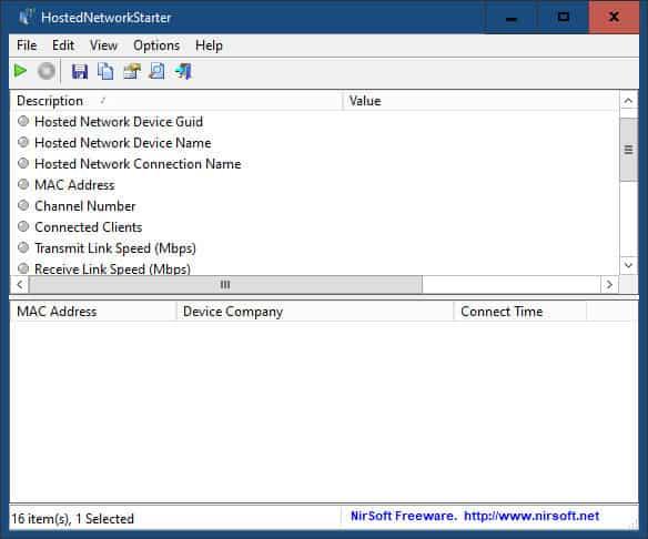 come condividere internet con un PC Windows 10 HostedNetworkStarter