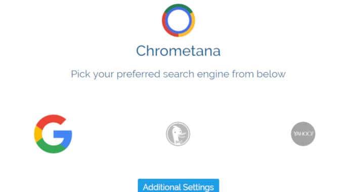 come impostare Google su Microsoft Edge Windows 10 Chrometana