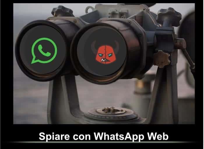 spiare con WhatsApp Web guida