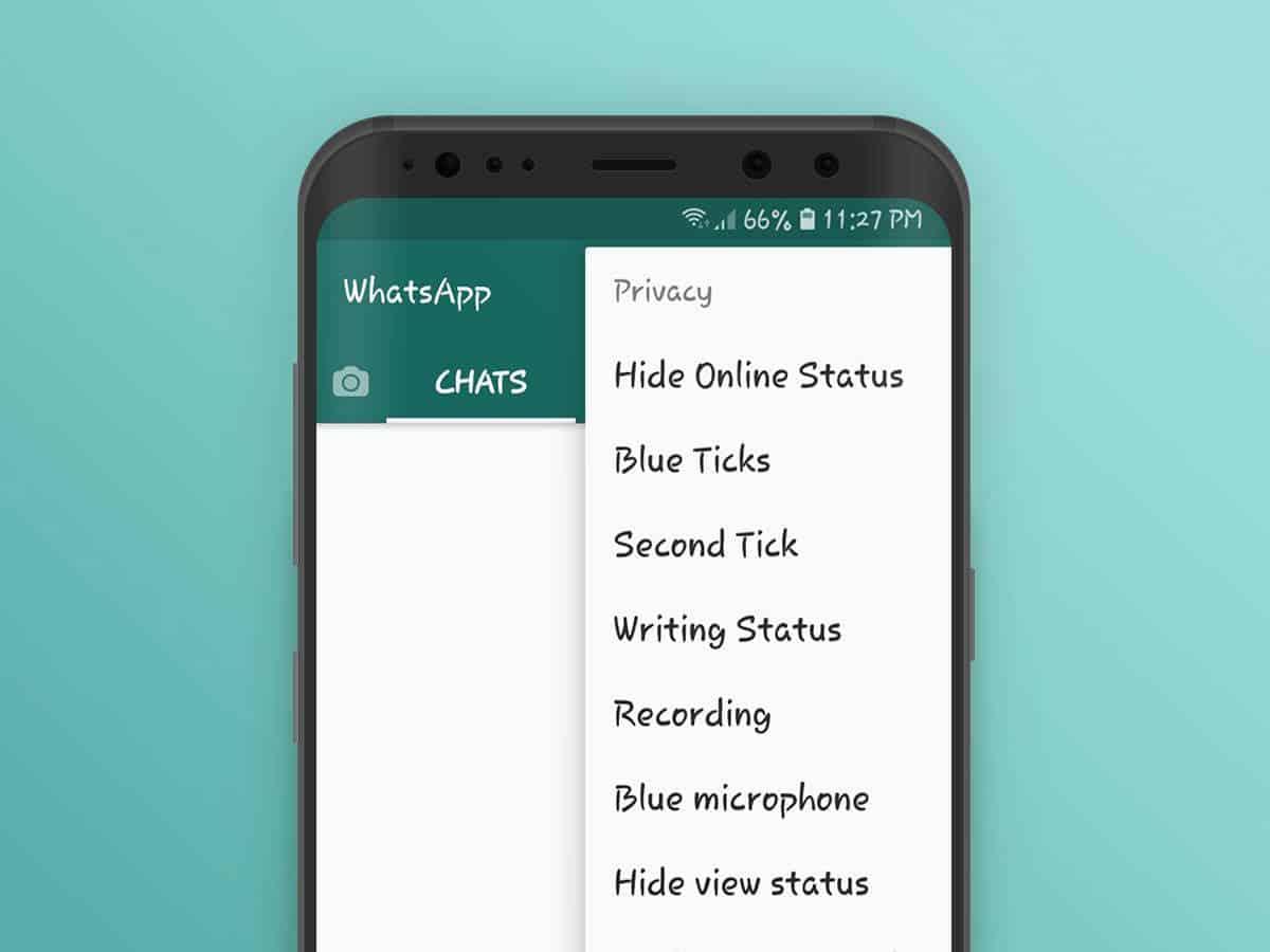 come risultare invisibili su WhatsApp GBWhatsApp Android