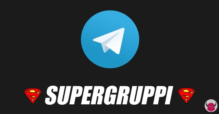creare supergruppi Telegram iPhone Android