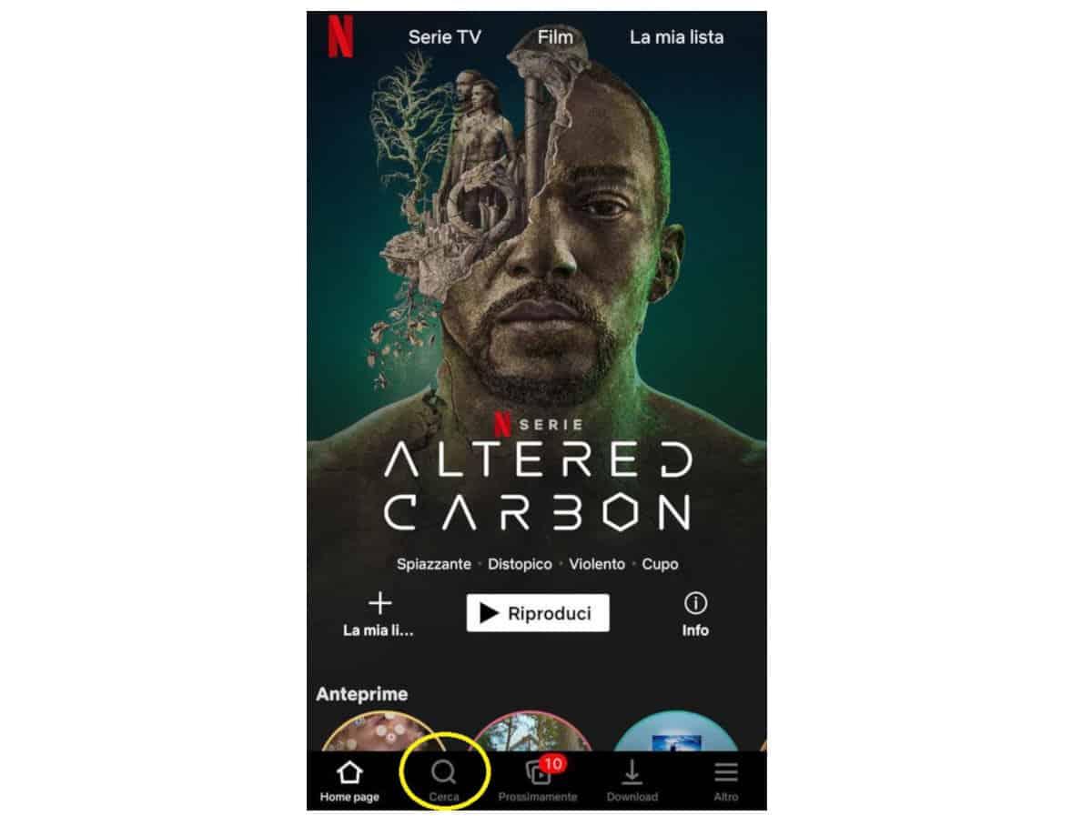 come vedere Netflix su iOS