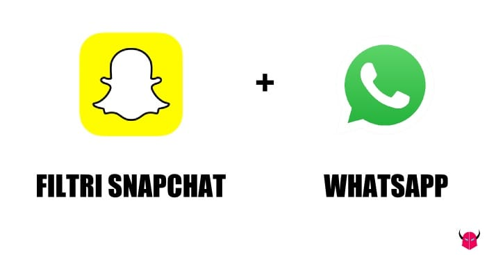 usare Filtri Snapchat su WhatsApp iPhone Android