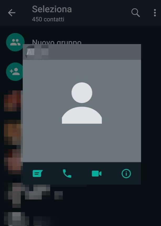come cambiare la foto del profilo di WhatsApp immagine non impostata