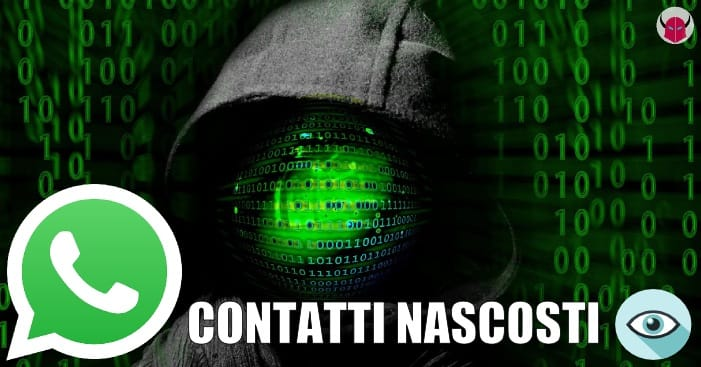 contatti nascosti WhatsApp iPhone Android