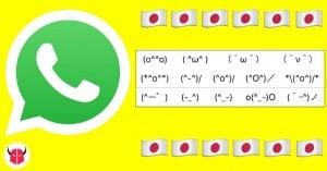 attivare emoticon giapponesi su WhatsApp iPhone Android