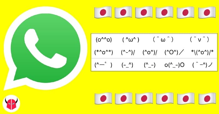 attivare emoticon giapponesi su WhatsApp iPhone Android