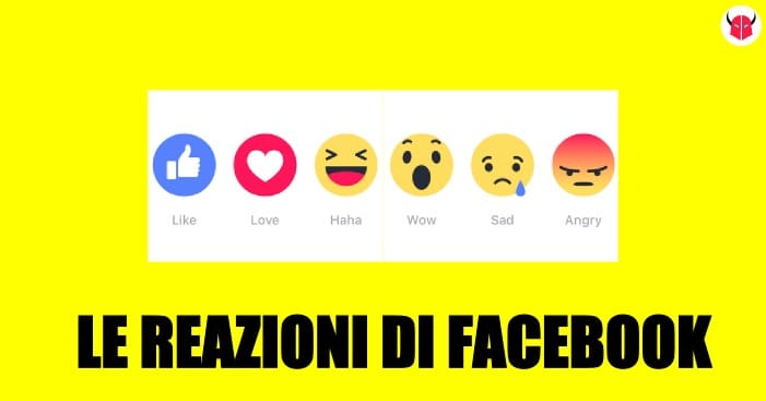 attivare reazioni Facebook iPhone Android PC