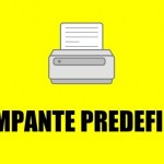 impostare stampante predefinita Windows Mac OS X