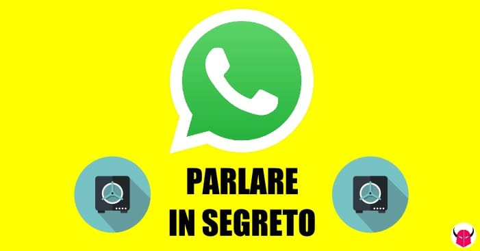 parlare in segreto su WhatsApp iPhone Android