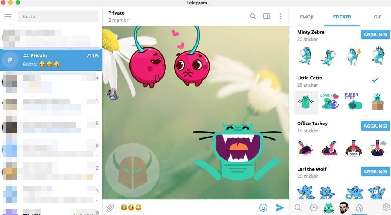 come fare gli sticker animati su Telegram