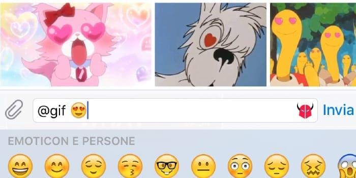 Come usare il bot delle GIF su Telegram