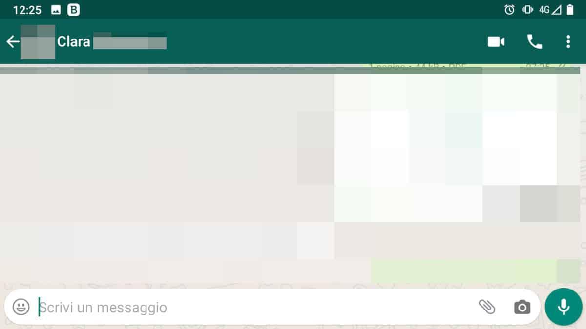 come vedere ultimo accesso WhatsApp orario non visibile